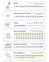 Основные одностенные элементы: флюгер, заглушка, переход, проход, крыза
